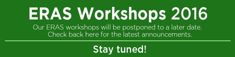ERAS Workshop Postponed